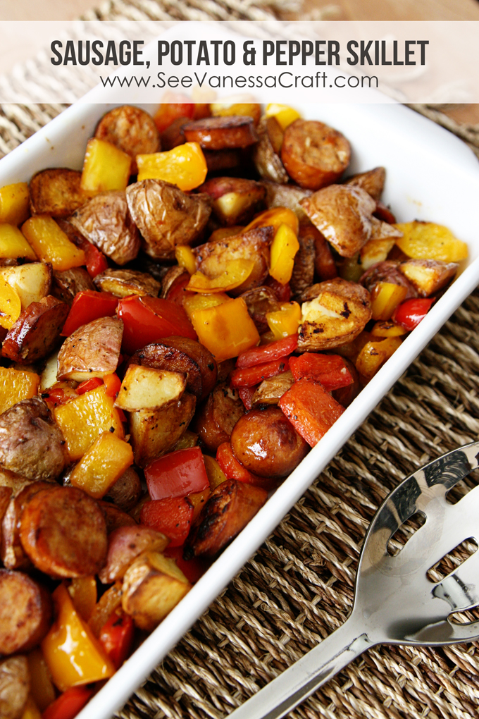 (recipe) sausage, potato & peppers healthy skillet - See ...