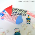 (craft tutorial) 4th of july firecracker party favors