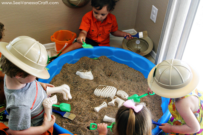 party dinosaur dig 3rd birthday party See Vanessa Craft