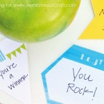 (free printable) back to school lunch notes