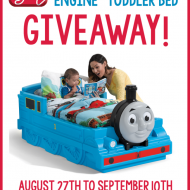 (giveaway) step2 thomas the tank engine toddler bed