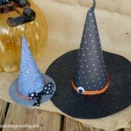 (30 crafty days of halloween) diy witch hats