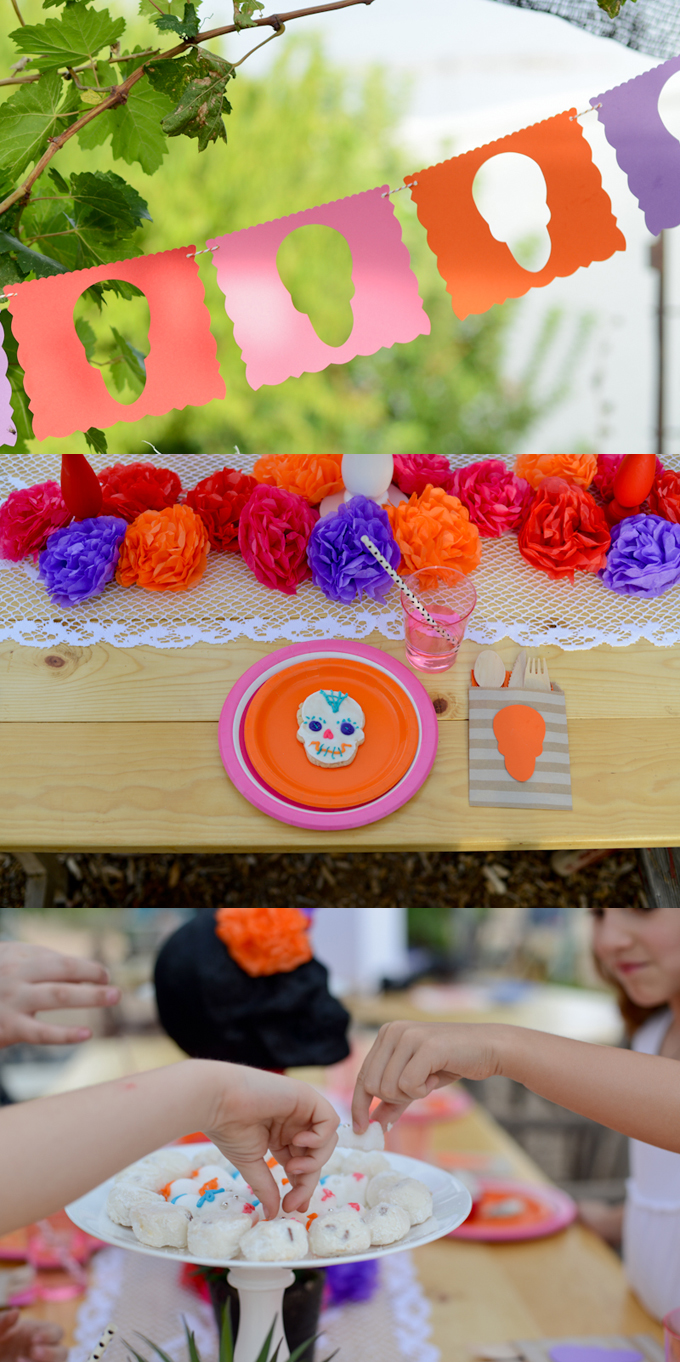 Party Day Of The Dead Flower Headbands See Vanessa Craft