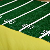 (party) easy football field tablecloth