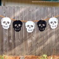 Halloween Skull Banner 1