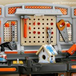 (review) step2 home depot big builders pro workshop