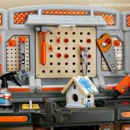 (review) step2 home depot big builders pro workshop