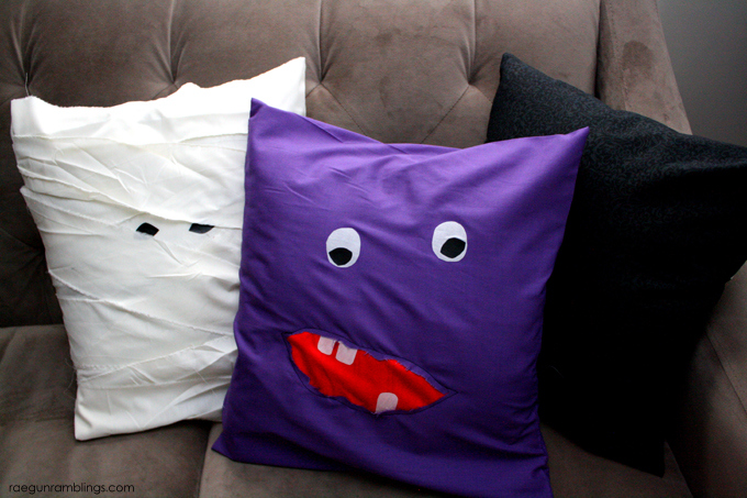 30 Crafty Days Of Halloween Easy Monster Pillow See