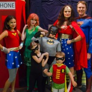 (30 crafty days of halloween) diy superhero capes and costumes
