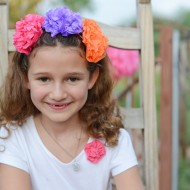 (party) day of the dead flower headbands