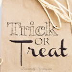 (30 crafty days of halloween) trick or treat bag printable