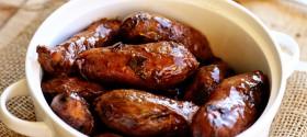 Brown Sugar Glazed Sweet Potato Fingerlings 4 web