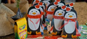 Penguin Snack Mix | www.seevanessacraft.com