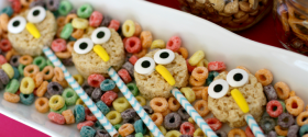 Rice Krispies Owl 1