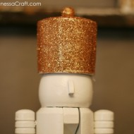 (diy tutorial) thrifted nutcracker makeover