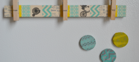 3 Easy Washi Tape Magnet Ideas | www.seevanessacraft.com
