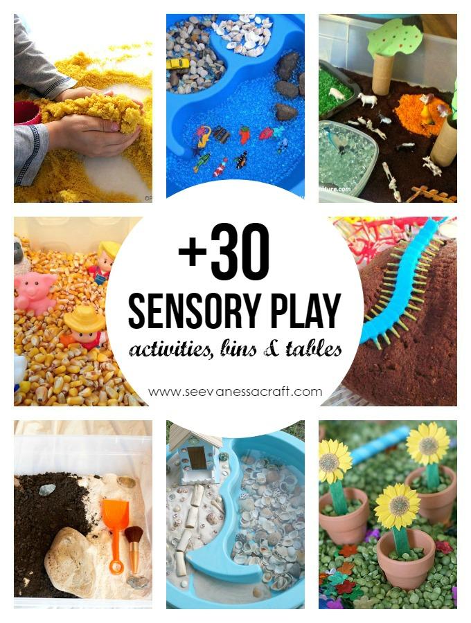 30 Sensory Play Activities