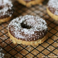 Recipe: Paleo Coconut Chocolate Donuts