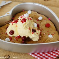 Recipe|M&M's® Red Velvet Pizookie