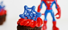 SpiderMan Cupcake Toppers 2 web
