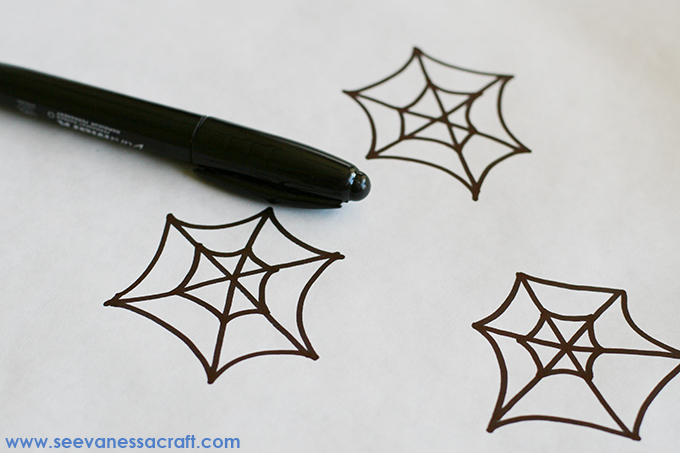 SpiderMan Cupcake Toppers 3 web