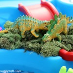 DIY: Dinosaur Sensory Bin + 30 Sensory Play Ideas