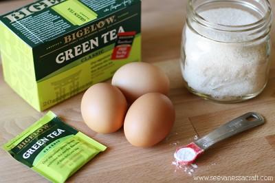 Green Tea Meringues