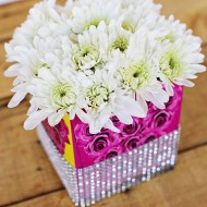 Craft: Upcycled Kleenex Box Vase