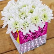 Craft: Upcycled Kleenex Box Vase