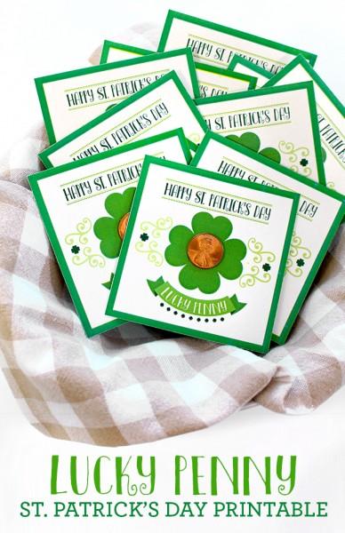 Lucky Penny St. Patricks Printable