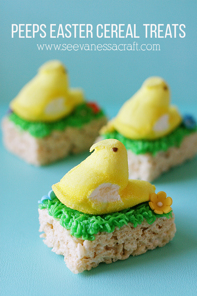 Peeps Easter Cereal Treats