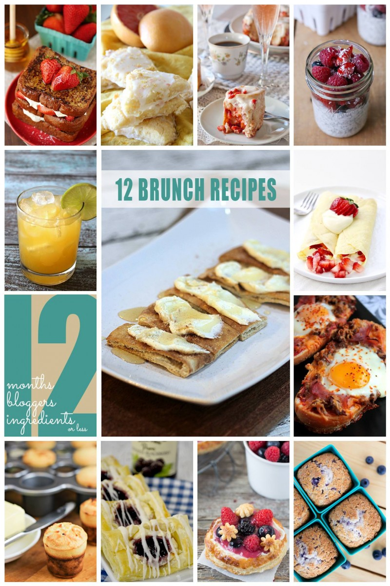 12 Brunch Ideas for Mother's Day