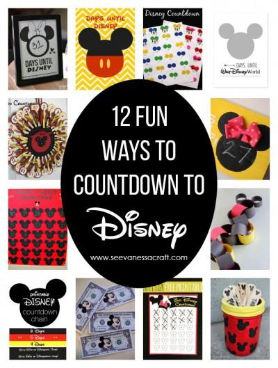 Disney Countdown Ideas