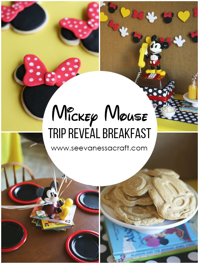 Disney Trip Reveal Mickey Mouse Breakfast
