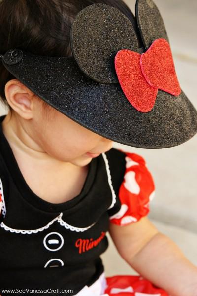 Minnie Mouse Visor Craft