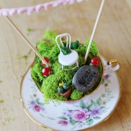 Craft: Teacup Fairy Garden