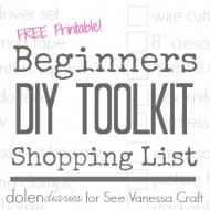 Beginners DIY Toolkit Shopping List Title