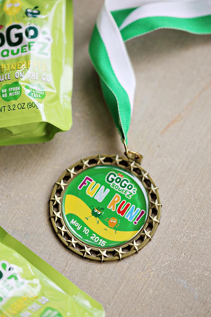Disney Fun Run Medal #DisneySMMC