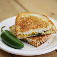 Recipe: Jalapeño Popper Grilled Cheese