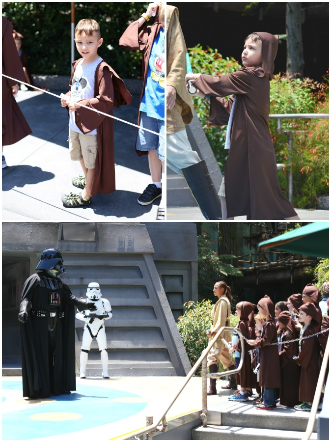 Jedi Training Collage
