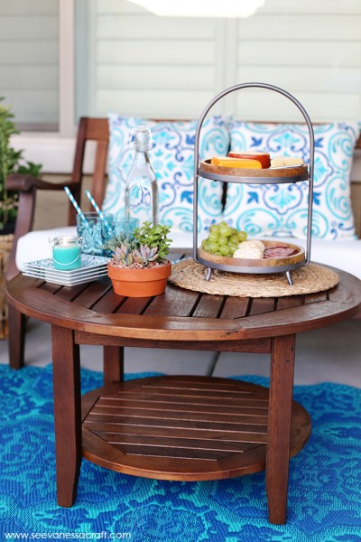 Outdoor Entertaining and Patio Makeover with World Market