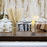 Rustic Summer S'mores Bar