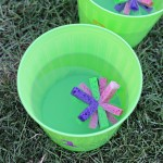 Craft: Summer Sponge Toss Water Game
