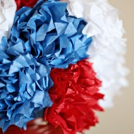 Craft: 4th of July Centerpiece with Twizzlers