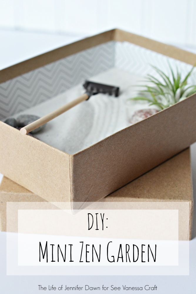 Diy Mini Zen Garden In A Box
