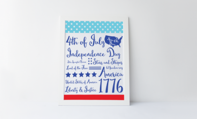 Fourth of July Print