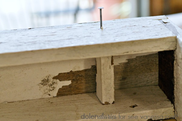 nail in trough caddy dividers