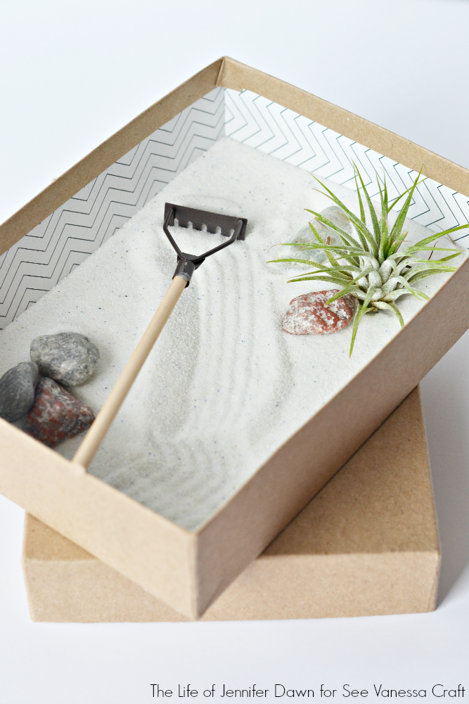 Craft mini zen garden for father 39 s day see vanessa craft for Mini zen garden designs