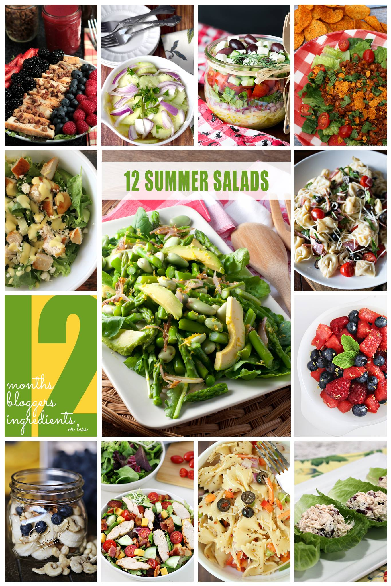 12 Summer Salad Recipes