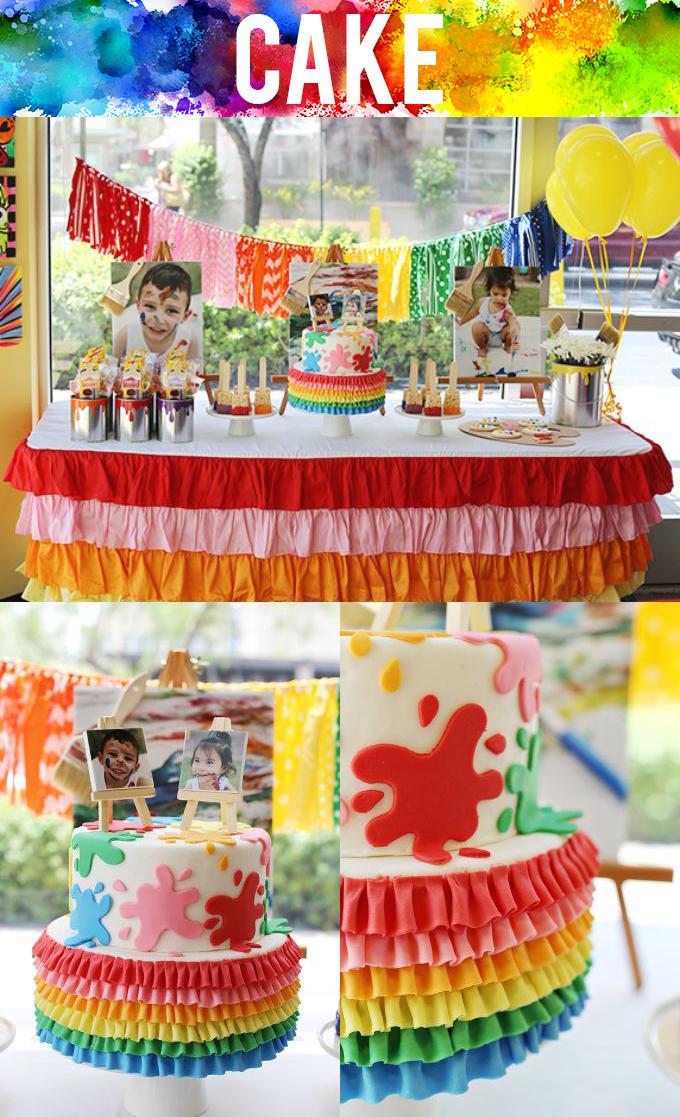 Art Party Cake copy